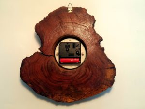 Rare Vintage Mid Century Wooden Swedex Wall Clock