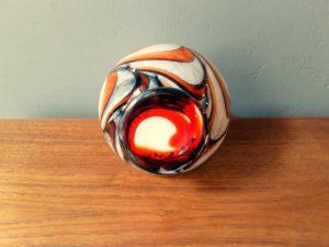 Italian Murano Glass Vase By Carlo Moretti, Mid '70s