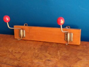 Space Age Coat Rack / Wall Hanger