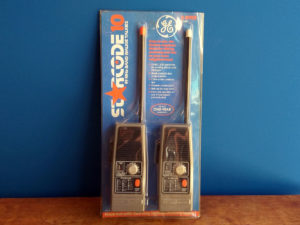 General Electric Walkie-Talkie Starcode10, Boxed
