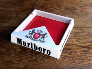 Marlboro Advertising Ashtray