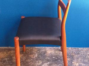 Ζευγάρι Σκανδιναβικές Vintage Καρέκλες Καθιστικού