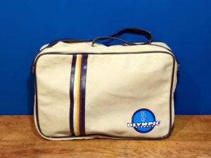 Vintage Original Olympic Airways Bag