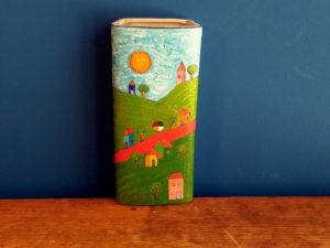 Μοναδικό Βάζο Τοίχου Ζωγραφισμένο Από Τον Κορνήλιο