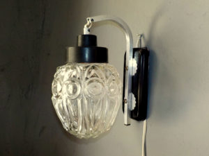 Pair Of Vintage Mid Century Wall Sconces Lights