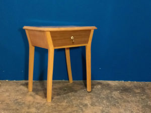Mid Century Modern Bed Side Tables, Set Of 2