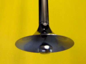 "Mid Century Inox Φωτιστικό Οροφής ""Τηλεσκόπιο"""