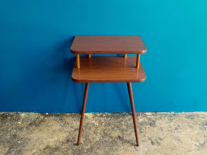 Sputnik Side Table With Formica