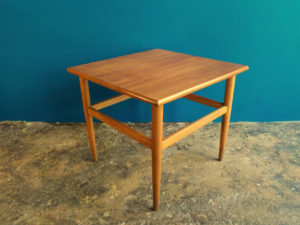 Square Danish Design Side Table