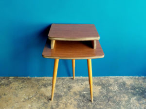 Tripod Sputnik Style Side Table