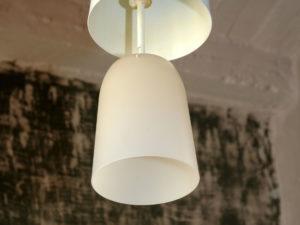 Vintage Minimalistic Metallic Pendant Lamp