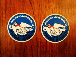 Δύο Vintage Σουπλά British Aerospace, Shipborne Message Handling