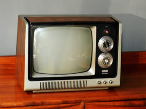 RCA AR 301WCC Solid State Vintage B/W Television