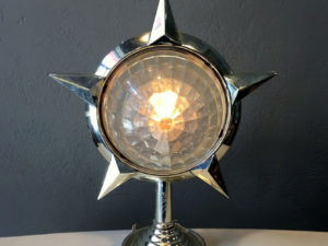 Mid Century Modern Star Table Or Floor Lamp, Seco.