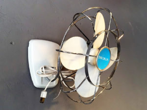 Vintage Steel Viking Fan Model 4398