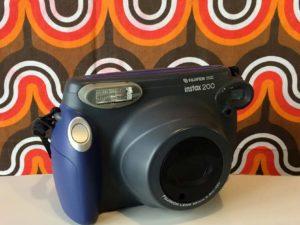 FUJIFILM Instax 200 Vintage Instant Camera