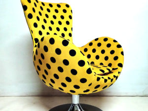 "Unique Vintage ""Egg"" Armchair Refurbishment"