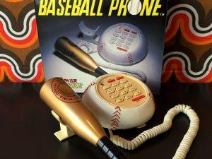 Boxed Retro Baseball Theme Phone BB-323S