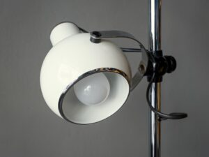 Vintage Space Age Italian Floor Lamp Light