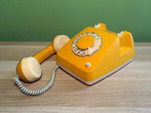 Siemens Κίτρινο Λειτουργικό Τηλέφωνο