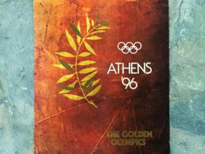 Προωθητική Συλλεκτική Αφίσα Ολυμπιακών Αγώνων Αθήνα 1996!!!