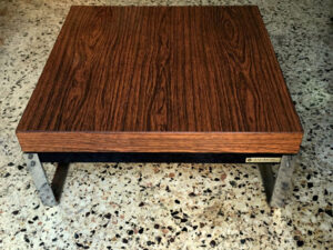 Greek Vintage Tsaousoglou Mid Century Square Coffee Table