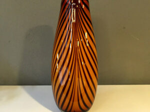 Incredible Flawless Italian Mid Century Modern Glass Vase