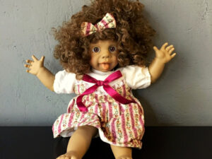 Vintage Collectable Spanish Panre Doll (38cm) Soft Bodied Funny Face Pt.2