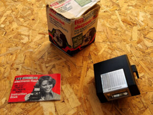 Vintage ITT Electronic Flash For Polaroid Land Cameras