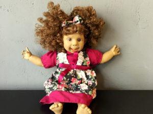 Συλλεκτική Vintage Panre Ισπανική Κούκλα Με Αστείο Πρόσωπο (38cm)