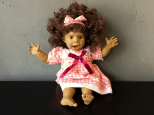 Vintage Collectable Spanish Panre Doll (38cm) Soft Bodied Funny Face Pt.3