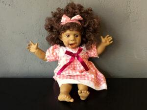 Συλλεκτική Vintage Panre Ισπανική Κούκλα Με Αστείο Πρόσωπο (38cm) Pt.3