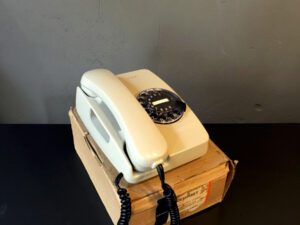 NOS Vintage Rotary Siemens Phone Made In Greece, Boxed