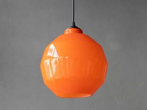 Gino Vistosi Πολύπλευρο Φωτιστικό Οροφής Murano 1960s