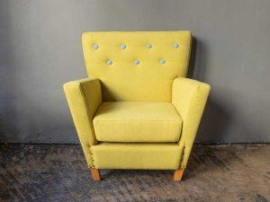 Μοναδική Αναπαλαιωμένη Vintage Πολυθρόνα ΄60ς pt.2