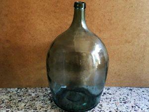 Vintage Νταμιτζάνα Από Γυαλί, 52cm