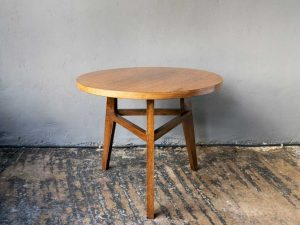 Vintage, Medium, Round Mid Century Stylish Side Table