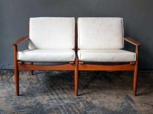 Svend Ave Eriksen Two Seater Sofa For Glostrup '60s