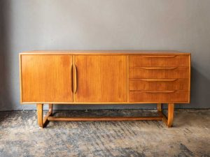Danish Design Unique Mid Century Buffet Sideboard '60s
