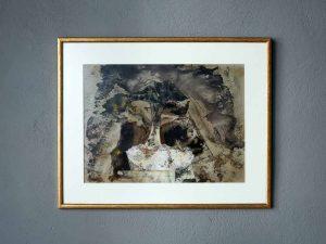 Abstract Γνήσιος Πίνακας Ζωγραφικής Έλληνα Καλλιτέχνη