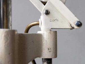 Γνήσια Λάμπα LUXO Με Βάση Δαπέδου '60ς
