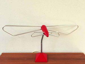 "Vintage Space Age Sputnik Indoor Antenna For TV, Made In Greece By ""DM"""
