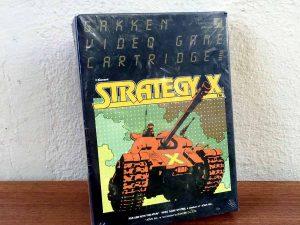 "Still Sealed Catridge Game""STRATEGY X"" For ATARI 2600,1981"