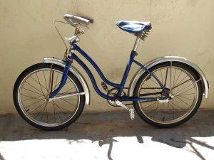 Vintage Blue Velamos Kids Bisycle