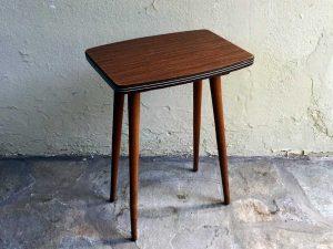 Mid Century Vintage Μικρό Βοηθητικό Τραπέζι Φορμάικα '60ς